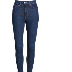 NWT TOPSHOP Moro Jamie high waist jeans